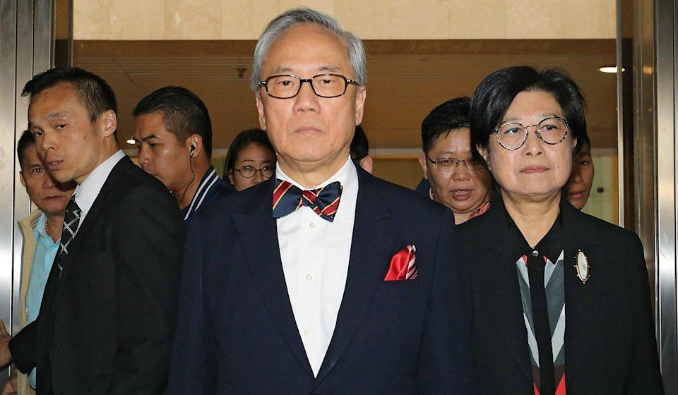 Former Hong Kong leader Donald Tsang taken to hospital ahead of release from prison