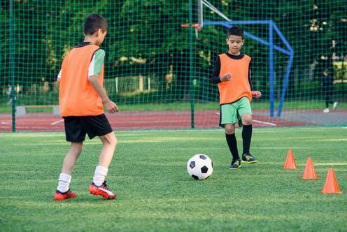 """<span class=""""attribution""""><a class=""""link rapid-noclick-resp"""" href=""""https://www.shutterstock.com/image-photo/two-concentrated-teen-players-passes-soccer-1815583790"""" rel=""""nofollow noopener"""" target=""""_blank"""" data-ylk=""""slk:Gorynvd/Shutterstock"""">Gorynvd/Shutterstock</a></span>"""