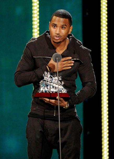 PHOTO: In this Nov. 7, 2014 file photo, Trey Songz accepts the Best Male Artist award during the 2014 Soul Train Awards in Las Vegas. (Chris Pizzello/Invision/AP)