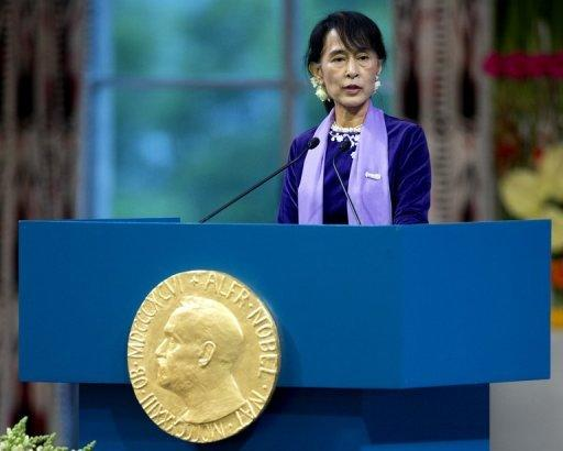 Aung San Suu Kyi pledged to work for national reconciliation