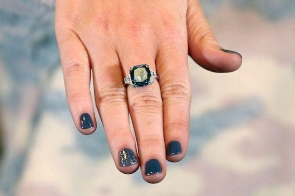 PHOTO: Sapphire diamond from Great Heights. (ABC News)