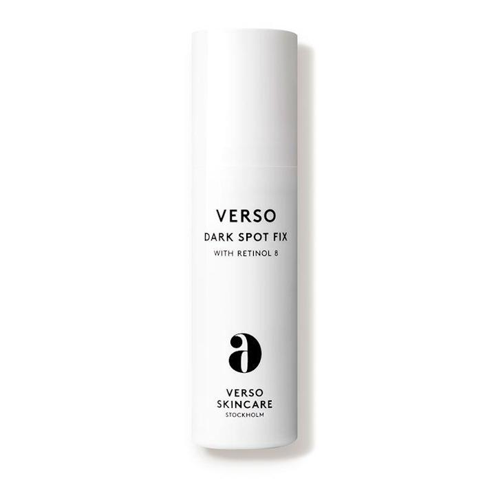 """<p><strong>Verso</strong></p><p>dermstore.com</p><p><strong>$95.00</strong></p><p><a href=""""https://go.redirectingat.com?id=74968X1596630&url=https%3A%2F%2Fwww.dermstore.com%2Fproduct_Dark%2BSpot%2BFix_58829.htm&sref=https%3A%2F%2Fwww.oprahdaily.com%2Fbeauty%2Fskin-makeup%2Fg29529033%2Fbest-dark-spot-correctors%2F"""" rel=""""nofollow noopener"""" target=""""_blank"""" data-ylk=""""slk:Shop Now"""" class=""""link rapid-noclick-resp"""">Shop Now</a></p><p>""""This product targets dark spots in multiple ways, which is what you want,"""" says Oprah Daily beauty and wellness director, Brian Underwood. """"Retinol addresses existing spots, along with many other age-related skin issues, while niacinamide and curcumine inhibit melanin production to prevent future spots from forming.""""</p>"""
