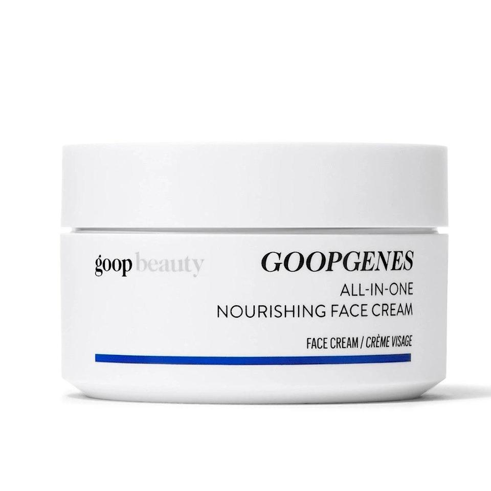 """This creamy, whipped moisturizer is loaded with 48 hours of hydration. It nourishes your skin's elasticity, reduces the appearance of fine lines, and soothes your skin from environmental stressors. $95, Goop. <a href=""""https://shop-links.co/1720900197341105946"""" rel=""""nofollow noopener"""" target=""""_blank"""" data-ylk=""""slk:Get it now!"""" class=""""link rapid-noclick-resp"""">Get it now!</a>"""