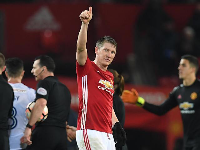 Bastian Schweinsteiger is set to leave Manchester United for MLS: Getty