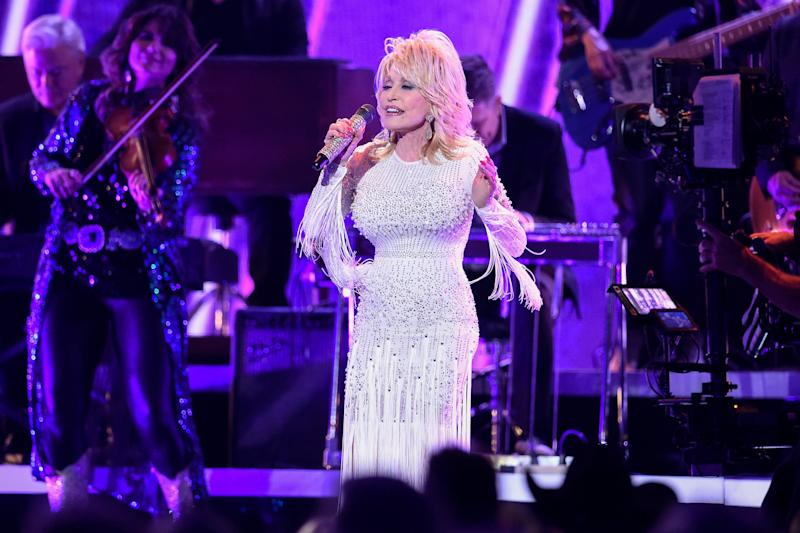 Dolly Parton teasedthe possibility of posing for Playboy in a radiointerview with the BBC on Saturday,revealing that she might pose forthe outlet againto honor turning 75next year.