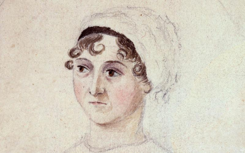 Jane Austen by Cassandra Austen - Credit: National Portrait Gallery London