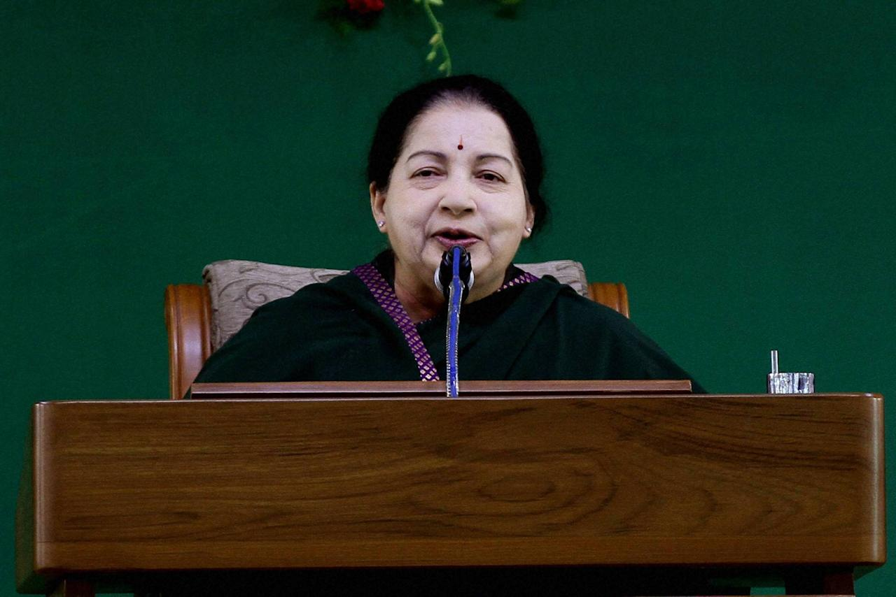 <p><strong>#8.</strong> Jayalalithaa: Even posthumously, the enigmatic former AIADMK leader continued to rule hearts and minds. As a dirty battle to take over the party reins after her demise began, a general council meeting granted her the title of 'eternal general secretary'. </p>