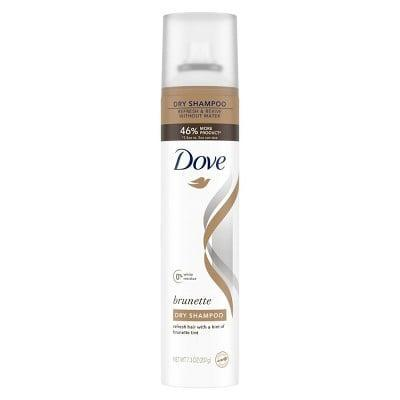 <p>The <span>Dove Beauty Brunette Dry Shampoo</span> ($6) was specifically formulated for those with dark hair. Use it between washes to keep your hair fresh without shampooing and no one will ever know the difference. </p>