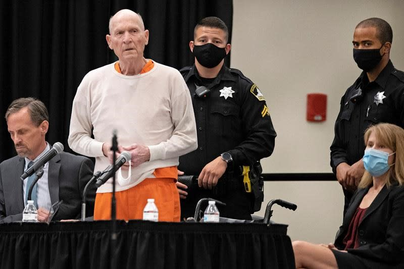 Apology at sentencing deepens mystery of Golden State Killer