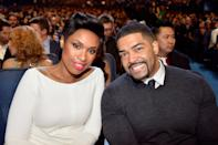 The pair both proposed to each other in a cute birthday celebration which saw both Hudson and Otunga receive a ring. They recently separated (2017) after ten years together. (Getty Images)
