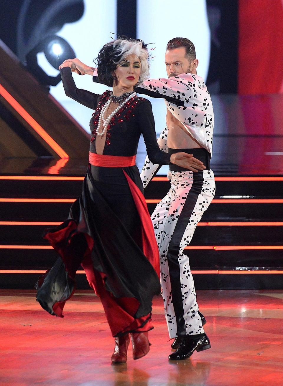 <p>If the <em>Bachelorette </em>star dressed as Cruella de Vil doesn't scare you, no evil thing will! </p>
