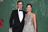 """<p>When her then-husband Colin Firth was making the red carpet rounds in 2010, Livia decided that anytime she joined him, she'd wear something that was """"fashioned within the remit of environmental and social justice,"""" <a href=""""https://www.vogue.co.uk/fashion/article/livia-firth-10-years-green-carpet-challenge"""" rel=""""nofollow noopener"""" target=""""_blank"""" data-ylk=""""slk:she told"""" class=""""link rapid-noclick-resp"""">she told </a><em>Vogue UK. </em>And her Green Carpet Challenge was born. In the years since, she and writer pal Lucy Siegle have challenged other celebrities to strive to wear sustainable clothing on red carpets, and brought to light the inhumane conditions garment workers face in places like Bangladesh. In 2012 alone, the women got Meryl Streep, Viola Davis and Cameron Diaz (at the Met Gala, no less!) to participate. </p>"""