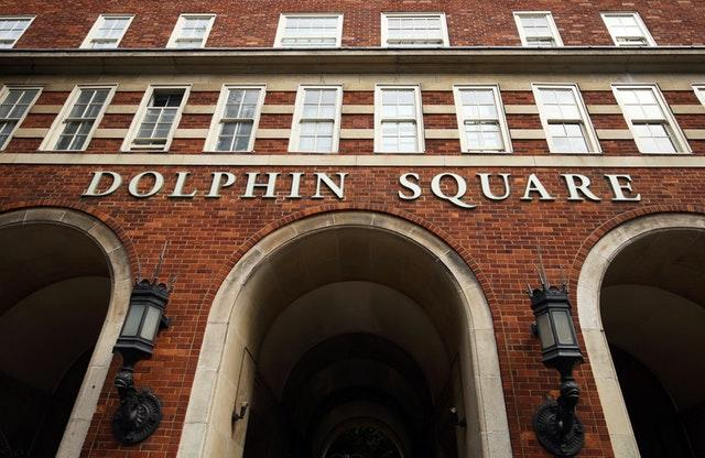 Officers asked those who lived in the Dolphin Square apartments in the 1970s to come forward (Steve Parsons/PA)