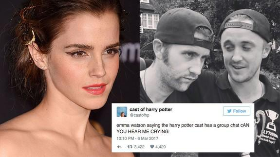 The cast of 'Harry Potter' have a WhatsApp group and it
