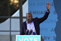Georgia Democratic Senate candidate Rev. Raphael Warnock on the campaign trail