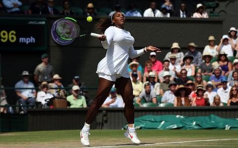<span>Williams in control of semi-final against Goerges</span> <span>Credit: PA </span>