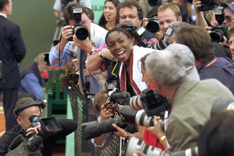 AP Was There 2002 French Open
