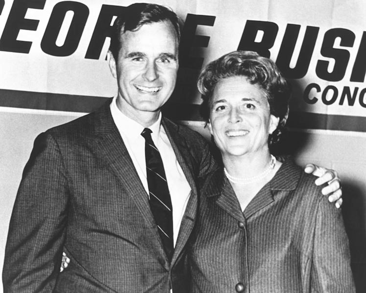 George H.W. and Barbara Bush's love story proves that love truly conquers all.