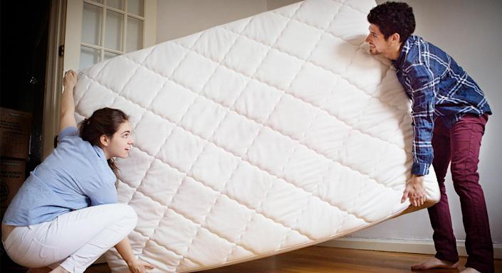Most mattresses need to be flipped to maintain their quality. [Photo: Getty]