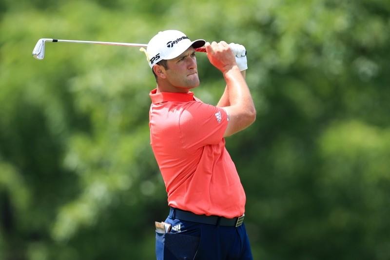Golf: Rahm overcomes nerves and penalty to take Memorial and top ranking