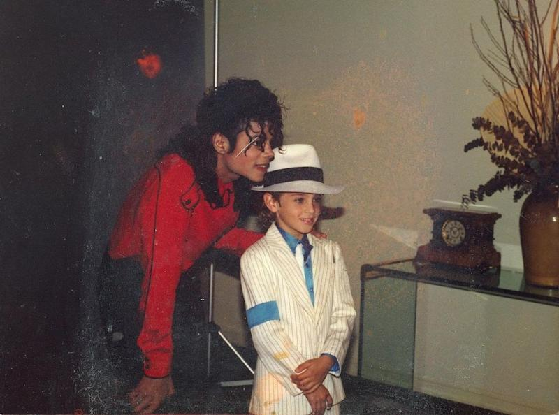 Wade Robson with Michael Jackson | HBO