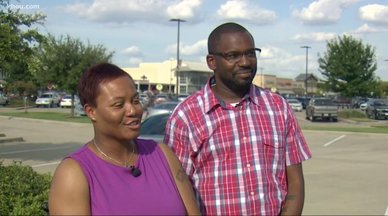 Marqueena and Kenneth Moore met in Japan while stationed in the U.S. Navy and have been married for 15 years. (Credit: KVUE)