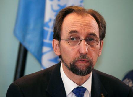 United Nations rights boss calls for referring Myanmar to ICC for Rohingya crimes