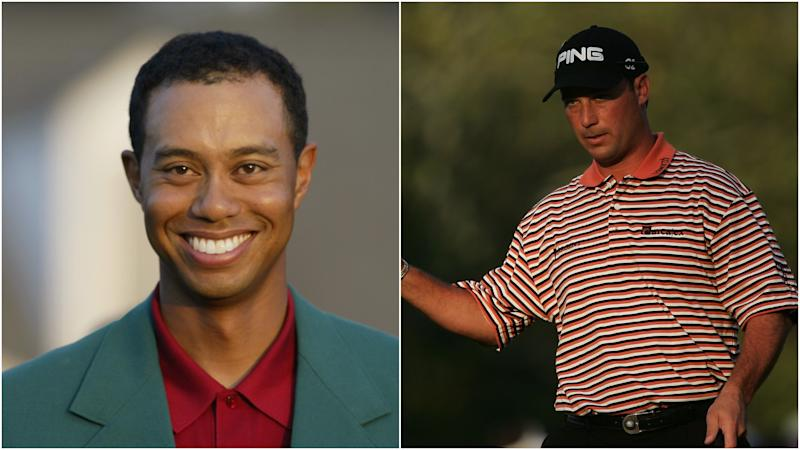 'That' chip-in and battling Tiger Woods in his pomp - Chris DiMarco remembers the 2005 Masters