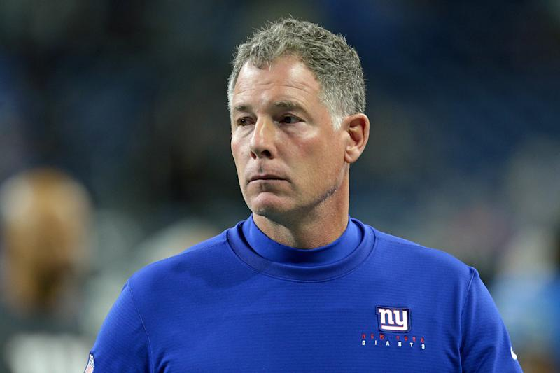 New York Giants coach Pat Shurmur will encourage his players to not be mic'ed up for ESPN. (Getty Images)