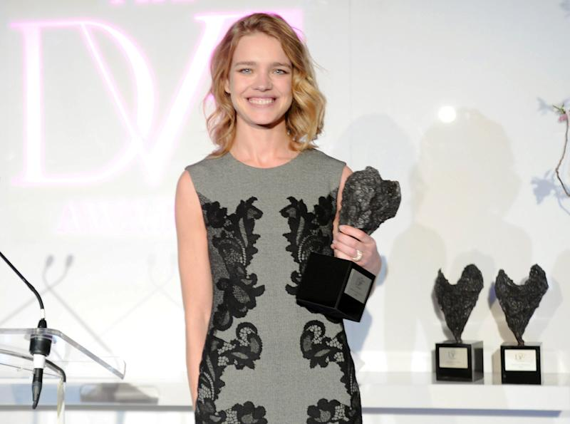 Model Vodianova's jet-setting ways help others