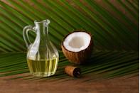 """<p>""""People with <strong>acne</strong> tend to overdry their skin, which triggers more <a href=""""https://www.prevention.com/beauty/skin-care/a28209367/how-to-get-rid-of-oily-skin/"""" rel=""""nofollow noopener"""" target=""""_blank"""" data-ylk=""""slk:oil production"""" class=""""link rapid-noclick-resp"""">oil production</a>. Apply a thin coat of <a href=""""https://www.prevention.com/beauty/a20428276/coconut-oil-cures-for-your-skin-and-hair/"""" rel=""""nofollow noopener"""" target=""""_blank"""" data-ylk=""""slk:coconut oil"""" class=""""link rapid-noclick-resp"""">coconut oil</a> after cleansing with a salicylic wash. It has antimicrobial and anti-inflammatory properties, and its ingredients, including vitamin E, repair the skin barrier and help the marks heal."""" </p><p><em>—Diane Madfes, M.D., assistant clinical professor of dermatology, Mount Sinai Hospital</em></p>"""