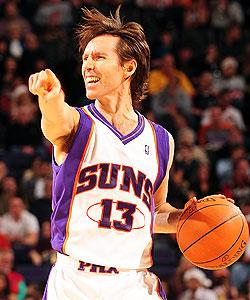 Steve Nash is averaging close to career highs in both scoring and assists this season