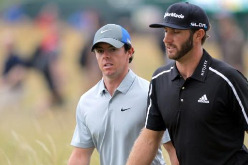 Johnson, McIlroy paired together at British Open