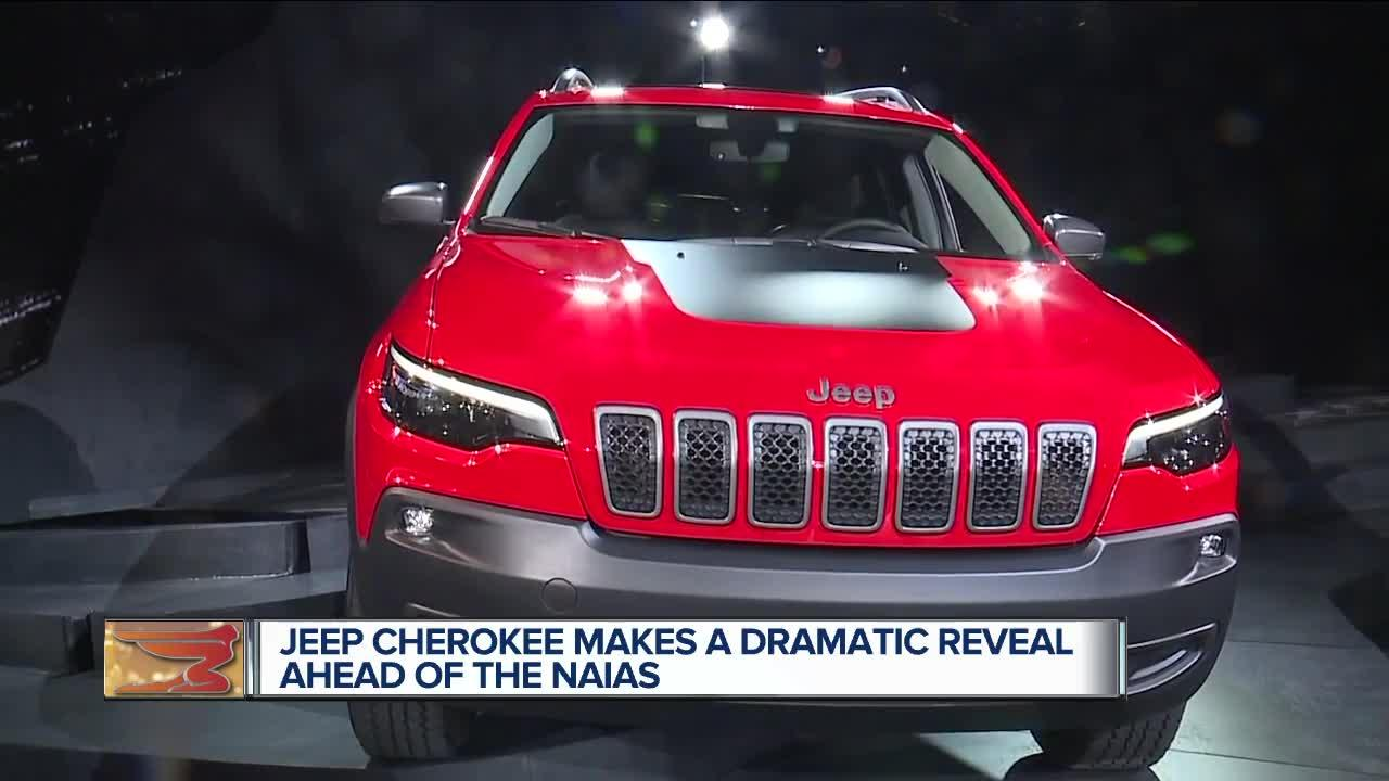Fiat Chrysler's Jeep brand is giving the Cherokee compact SUV a major facelift so it can better compete in one of the hottest parts of the U.S. automotive market.  The 2019 Cherokee,unveiled Tuesday at the Detroit auto show, will get styling tweaks, a new engine, suspension improvements and engineering changes that save 200 pounds and improve gas mileage over the current model.