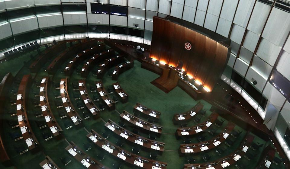 The central government's liaison office on Monday said delays in appointing a House Committee chairman had delayed scores of pieces of legislation. Photo: Nora Tam