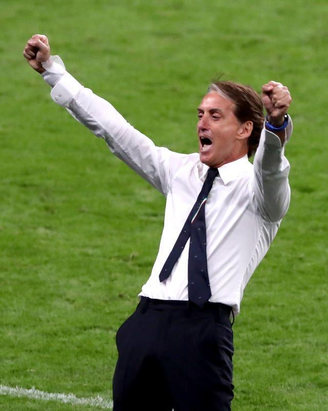 Roberto Mancini has been the man behind Italy's run to the final