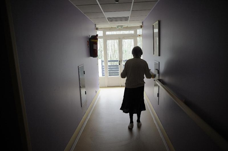 The World Health Organization estimates that a new case of Alzheimer's disease is diagnosed every four seconds (AFP Photo/Sebastien Bozon)