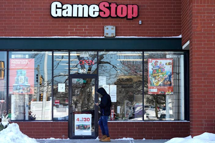 GameStop Retail Investors (Copyright 2021 The Associated Press. All rights reserved.)