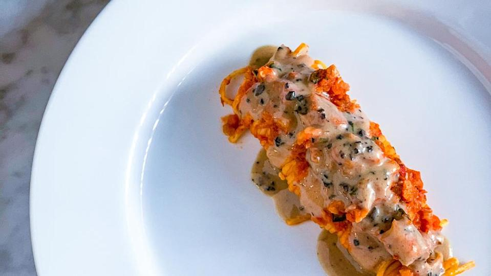 Lobster Bolognese with Truffle Sauce, Melisse