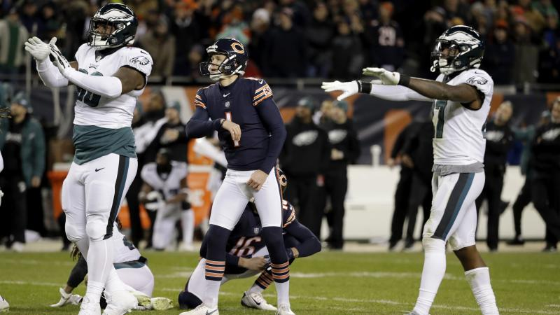 Philadelphia Eagles soar into next round after defeating Chicago Bears 16-15