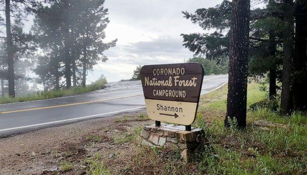 PHOTO: A sign for Coronado National Forest Campground is pictured in this photo posted on Twitter by Arizona Game and Fish Department. (AZ Game & Fish Dept./Twitter)
