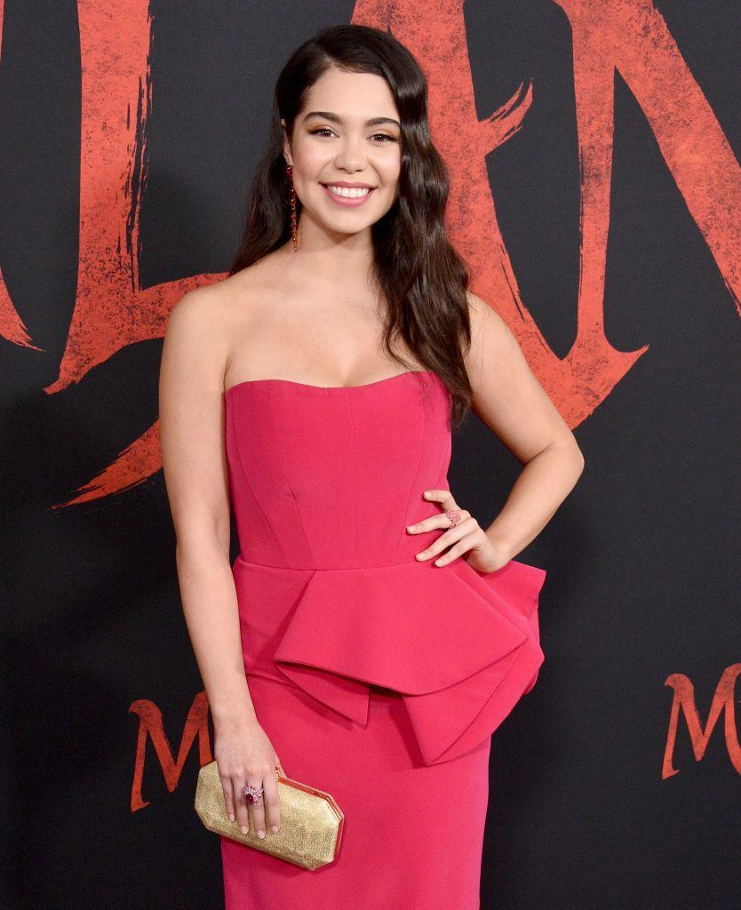 """<p>The <em>Moana </em>and <em>Rise </em>star had the best response when a fan asked her if she liked girls on Twitter. The actress and singer replied by linking the fan to a recent <a href=""""https://www.tiktok.com/@auliicravalho/video/6813323310521224454"""" rel=""""nofollow noopener"""" target=""""_blank"""" data-ylk=""""slk:TikTok"""" class=""""link rapid-noclick-resp"""">TikTok</a> video where she mimes the lyrics, """"no, I'm bi."""" </p>"""