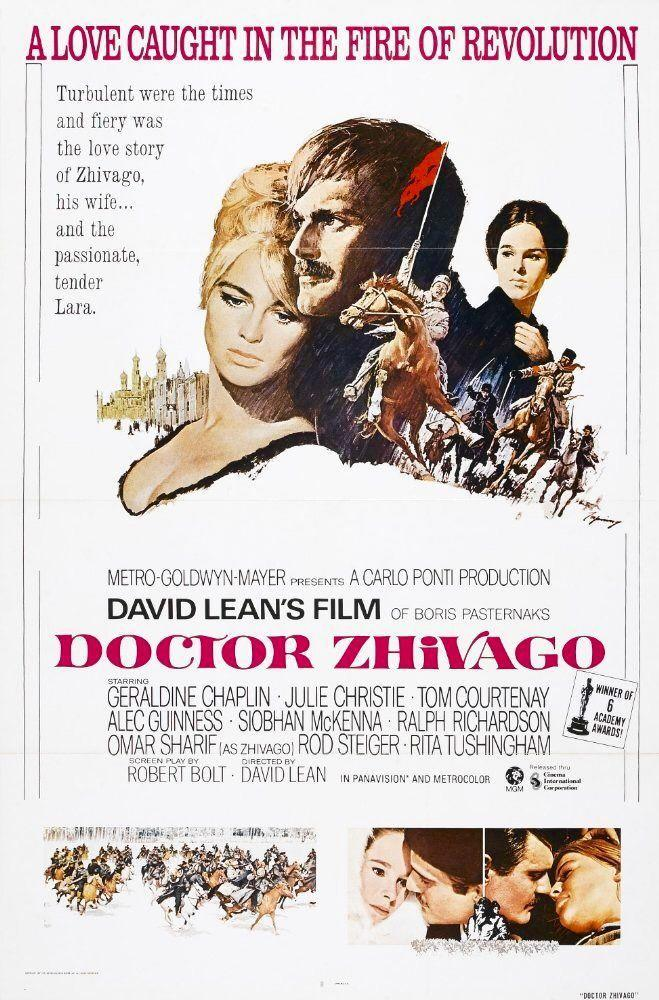 """<p>The classic tale about a Russian physician, his wife, his mistress, and the drama that ensues has been a favorite among audiences since the film's release in 1965.</p><p><a class=""""link rapid-noclick-resp"""" href=""""https://www.amazon.com/Doctor-Zhivago-Omar-Sharif/dp/B000NI8F4W/?tag=syn-yahoo-20&ascsubtag=%5Bartid%7C10050.g.25336174%5Bsrc%7Cyahoo-us"""" rel=""""nofollow noopener"""" target=""""_blank"""" data-ylk=""""slk:WATCH NOW"""">WATCH NOW</a></p>"""