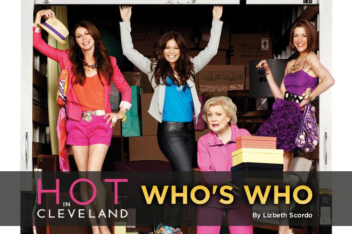 """If you've ever felt like you're not as hot as you used to be, well, maybe it's just that you're in the wrong city. TV Land's first original scripted series follows three """"women of a certain age"""" who decide to take a trip to Paris and are more than a little disappointed when their plane makes an emergency landing in Cleveland. That all changes when the ladies realize that, while they might be over-the-hill in their hometown of Los Angeles, they're totally """"<a href=""""/hot-in-cleveland/show/46056"""">Hot in Cleveland</a>"""" and can barely keep up with the affections of their new male admirers. Click through this slideshow to learn a little about the show's four fabulous female characters in the words of the stars who play them: Valerie Bertinelli, Jane Leeves, Wendie Malick, and secret weapon Betty White."""