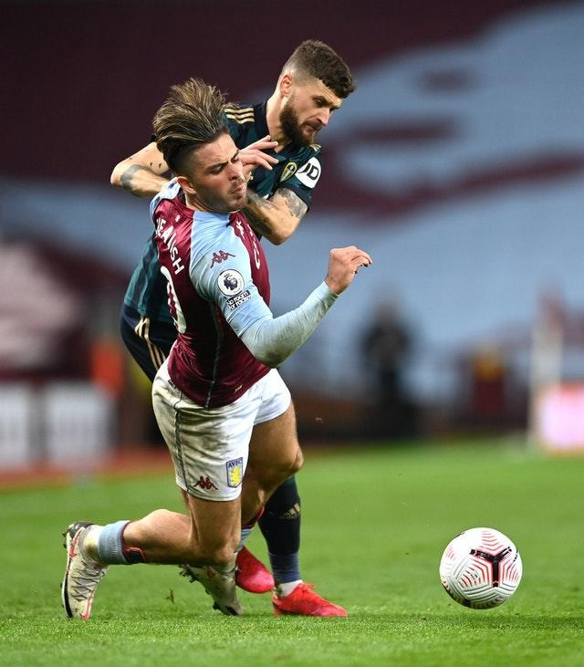 Leeds kept Villa captain Jack Grealish under wraps on Friday night