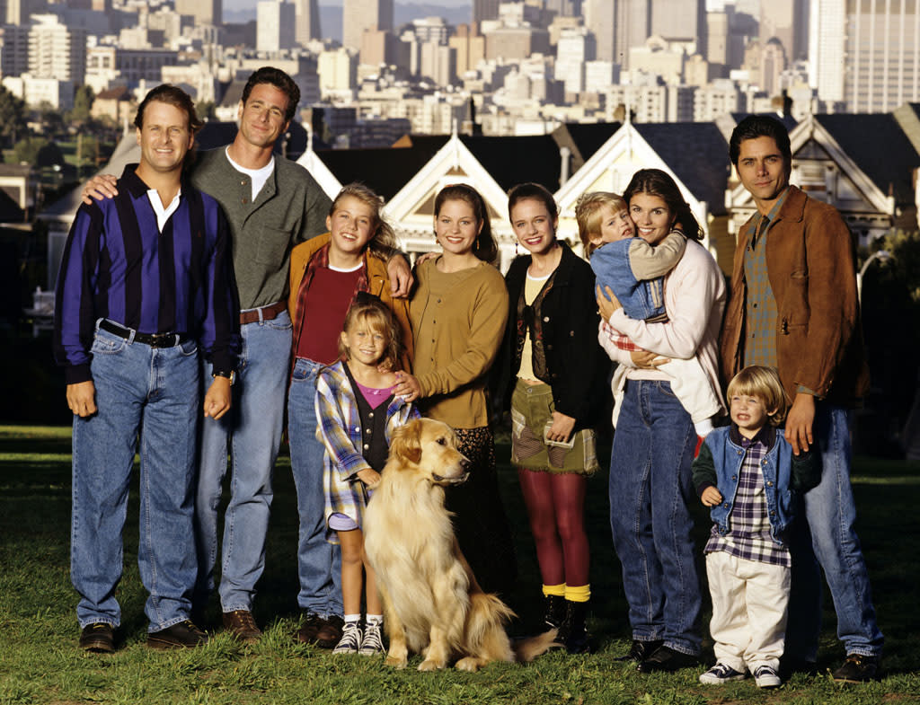 """Full House"" almost didn't end after its eighth season. Even though ABC was through with the sitcom, the fledgling <a href=""http://www.crazyabouttv.com/fullhouse.html"">WB</a> network wanted to pick the series up. John Stamos and Candace Cameron were both reluctant to sign up for another installment of the show, and the WB deal fell through."