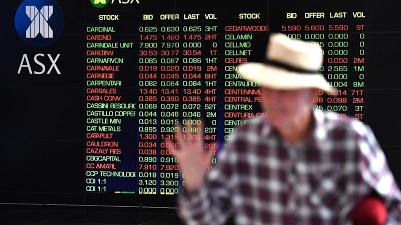 Market steady as banks fall, miners rise