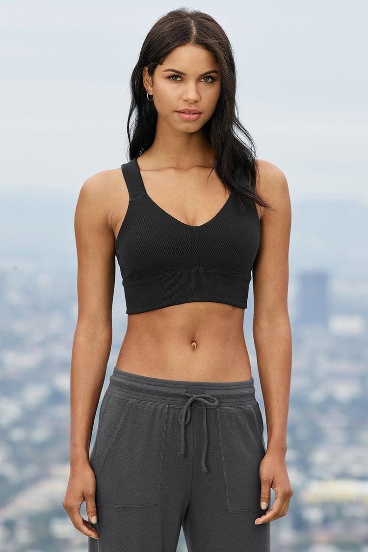 <p>The <span>Alo Emulate Bra</span> ($62) is a new favorite, but it'll be a staple in our wardrobes for a long time. It's comfortable without being flimsy, and supportive without feeling restrictive. It's an everyday go-to you'll love.</p>