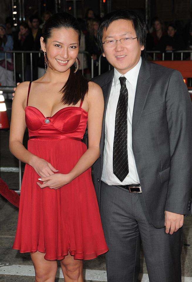 """<a href=""""http://movies.yahoo.com/movie/contributor/1804724195"""">Masi Oka</a> and guest at the Los Angeles premiere of <a href=""""http://movies.yahoo.com/movie/1810053986/info"""">Nine</a> - 12/09/2009"""