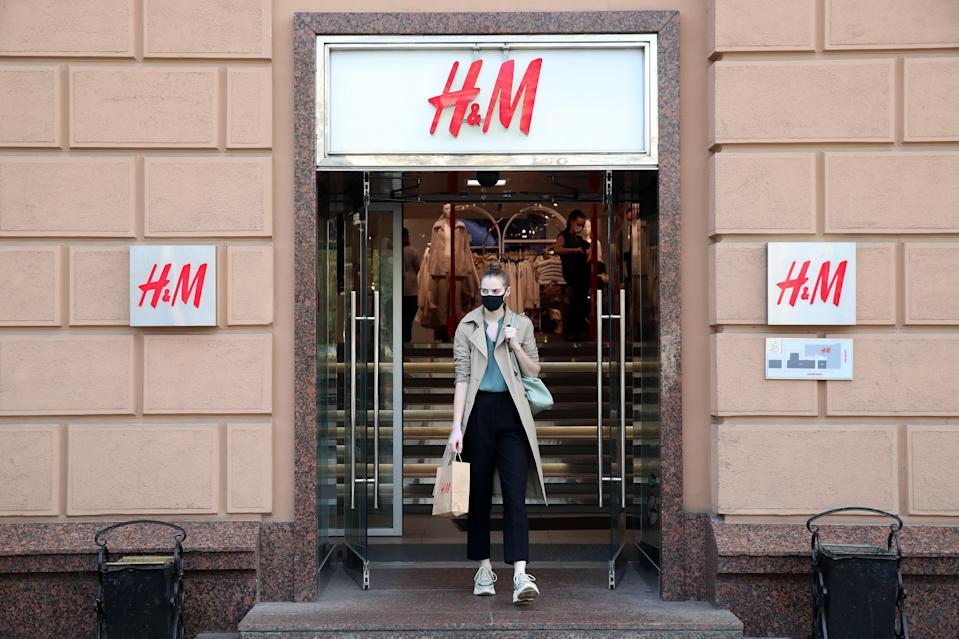 Approximately 80% of the group's stores were closed, at the height of lockdowns. Photo: Vyacheslav Prokofyev\TASS via Getty